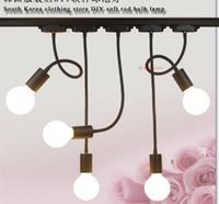 LED hortum parça sürgün ateş E26 E27 lamba uzun çubuk bükme arka plan duvar parça ışık çizmek için giyim mağazaları