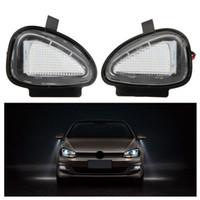 20 Paar / los LED unter den Seitenspiegel Lampen für VW Golf 6 Cabriolet Passat (B7) Touran Kostenloser Versand