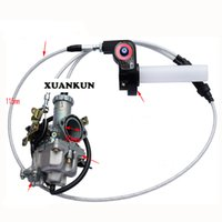 Rotation de la pompe à accélérateur 200-250CC modifiée de la moto hors route Visuel du carburateur pour accélérer la ligne des gaz de la pompe