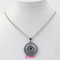 New Arrival Wholesale Snap Jewelry 18mm Round Shape Pendant ...