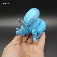 Triceratopo Uovo Dinosauro Giocattoli di plastica Modello Action Figure Ragazzi Regalo Mente Gioco Rompicapo IQ Gioco giocattolo
