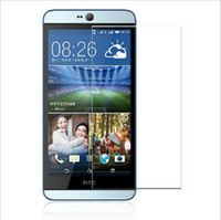0.26mm Screen Protector 2.5d 9H voor HTC Desire 820 530 M9 M8 M7 E8 Voorste Explosiebestelling Clear Mobile Phone Tempered Glass