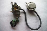 LPG تحويل عدة دليل خنق صمام البنزين يناسب هوندا GX390 188F SHW190 البريد المجاني 5KW 13HP أجزاء محرك البنزين