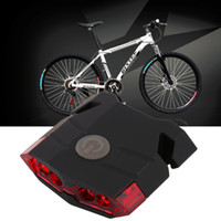 Hot SaleLABBIA 4 LED Mountain Bike Fanale posteriore Impermeabile USB Lampada ricaricabile