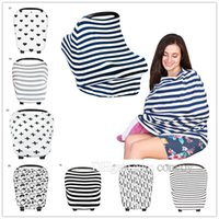 Baby Car Seat Canopy Cover Breastfeeding Nursing Scarf Cover...