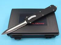 Продвижение ALLVIN Производство A162 Авто тактический нож 440С Двойные действия Полумирно-клинок Открытый Кемпинг Пешие прогулки EDC Gear
