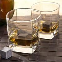 Eis Whisky Stones 2 * 2 * 2cm Eiswürfel Whisky Cold Stones Whisky Eis Steinfelsen Weinzubehör Natürliche Whisky Steine Für Verkäufe
