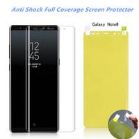 Macio tpu nano hidrogel film para iphone xs max samsung a50 a30 a10 a10 m20 m10 s10 plus protetor de tela s10e filme capa completa não de vidro