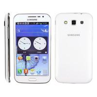 Samsung Galaxy Win I8552 Android 4.1 هاتف خلوي مجدد مجدد ROM 4GB Wifi Quad Core 4.7inch لمس الهاتف الذكي