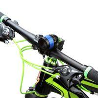 دراجة ضوء 500 لومينز 3 وضع T6 LED الدراجات الجبهة الضوء أضواء الدراجة مصباح الشعلة ماء ZOOM مصباح يدوي USB قابلة للشحن