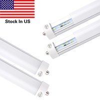 45w T8 8FT LED Tube Light, Single Pin FA8 Base, 6000K Cold Whi...