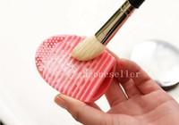 Escova de Ovo Brushegg Silicone Cosméticos Make Up Ferramenta de Limpeza Escova Acessórios de Maquiagem Livre DHL Direto Da Fábrica