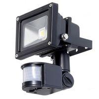 PIR czujnik ruchu podczerwieni LED 10W 20 W 30W 50W COB IP65 LED Oświetlenie powodziowe do Outdoor Garden LED reflektor 110-265V