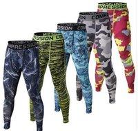 Mens compression pants sports running jogger jogging tights ...