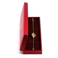 Orsa Jewelry Bonita joyería Pulsera Paquete Regalo Joyería Pulsera Paquete Paquete con color rojo presente Decoración