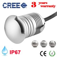 cree led ip67 12v 24v outdoor garden patio paver recessed deck floor wall led underground lamp light landscape sidewalk lighting