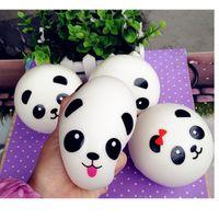 Panda Squishy Charms Kawaii Buns Bread Téléphone Clé / Sac Pendentif Pendentif Squis # R12
