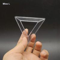 Fun Clear Magic Cube Cadre Accessoires Triangle Titulaire Base Casse-tête QI Jeu Jouet Prop