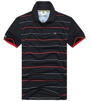 Summer New Brand Men' s Stripe Polo Shirt For Men Polos ...