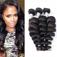 Brazilian Loose Wave Virgin Hair Extensions Wholesale Brazil...