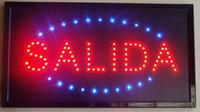 прямые продажи полуоткрытого график 10 * 19 дюймового Ultra Bright работает Модесто водить рекламные вывески водить знак Оптовых