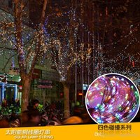 Solar LED String Lights By IMPRESS LIFE on 16. 5ft Copper Wir...