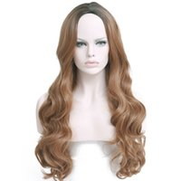 Hair 28' ' 330g Long Ombre Blonde Synthetic Wigs Fo...