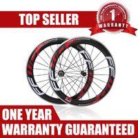 60mm FFWD F6R 사이클링 바퀴 Wheelset 빨리 감기 Clincher 도로 자전거 탄소 바퀴 Wheelset 경주 자전거 바퀴