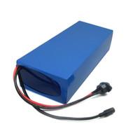 60 V Lithium batterie 60V 15AH 900W batterie de vélo électrique 60V 15AH utiliser Samsung 3000mah cellule 15A BMS Frais de douane gratuits