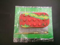 1pcs kit de cire en silicone ensemble avec 14cm * 11.5cm feuilles carrées tampons mat