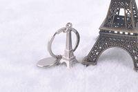 3d المعادن محاكاة برج إيفل المفاتيح الفرنسية تذكارية باريس سلسلة المفاتيح مفتاح سلسلة مفتاح حامل كيرينغ