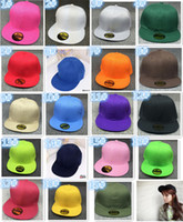 fashion 19 colors Snapback Hats cap Snapbacks Snap back Base...