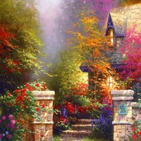 Thomas Kinkade Landscape Painting Reproduction High Quality ...