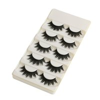 5 Pairs Of Women Ladies Makeup Thick False Eyelashes Eye Las...