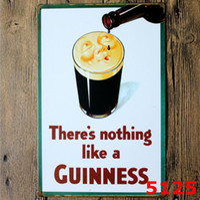 Panneau en métal en métal 20 * 30cm Bière My Guinness Retro Vintage Classic Tin Bar Pub Accueil Décor Mural Poster Rétro Tin