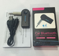 con Retail Box Universal da 3,5 mm Streaming Car A2DP Wireless Bluetooth V3.0 EDR AUX Audio Music Receiver Adapter