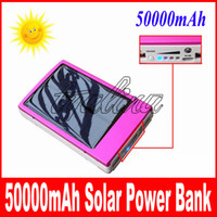 Wholesale - full capacity power bank 50000mah Emergency   Po...