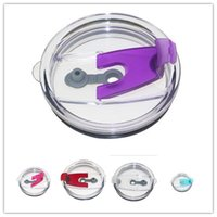 For Mug Lid Splash Spill Proof Lids 30oz stainless steel Tum...