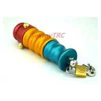 Nuovo Design Anal Lock Anus Plug Butt Spreader Perline Intruder Metal Ass Lock Fetish BDSM Gear Chastity Device B0101047