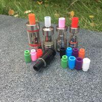 En stock sous test de silicone tests d'égouttement pour 510 cigarette électronique atomiseur 510 silicone jetable pointe goutte à goutte testeur 510 embout buccal
