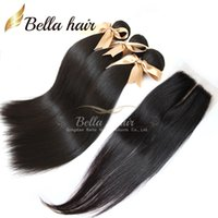 Hair Closure Malaysian Hair(4x4) Top Closures Middle Part La...