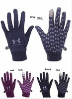Brand UA Touch Screen gloves High quality Designer Winter Ou...