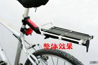 En gros noir Cyclisme Vélo Vélo Carrier En Alliage D'aluminium disc-brake V-brake Rack Arrière Fender Bagages Tige De Selle Rack