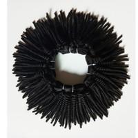 Профессиональная обработка бразильских человеческих волос афро кудрявый вьющиеся 4А 4В 4С Малайзии Индийский дешевые Реми волос ткет для продажи цена по прейскуранту завода