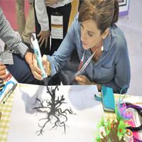 جديد ثلاثي الأبعاد طابعة abs خيوط 3d رسم القلم خيوط 10 متر 26 ألوان 1.75mm البلاستيك الملونة المطاط المواد الاستهلاكية طابعة 3D القلم خيوط