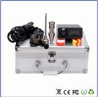 Enail majest prego elétrico enail banger 110 v 240 v 150 w 16mm bobina aquecedor de quartzo enail Titanium fit 16mm20mm bobinas de aquecimento com Auminium caso