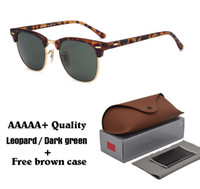 2018 Classic Retro Vintage Glass Lens Sunglasses Men Women B...