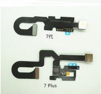 10pcs pour iPhone 7 7G 7+ 7 Front Plus face à la caméra Module de proximité Capteur de lumière Flex câble