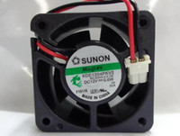 Orginal SUNON KDE1204PKV2 MS.B3242.A.X.GN DC12V 0.6W 4cm 4020 2 Wires 2 Pines Connector square DC Fan