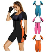 Neoprene Body Shaper Women Workout Sports Suit Modeling Stra...